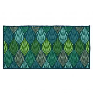 ΟΡΘΟΓΩΝΙΟ ΧΑΛΑΚΙ 57 x 115 CM PRINTED WINTER GREEN