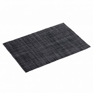 ΣΟΥΠΛΑ 30 x 45 CM PVC PUNTO BLACK