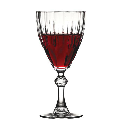 (44767)DIAMOND RED WINE ΣΕΤ6 245CC 17.7 1/4 P/384