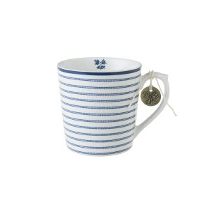 Laura Ashley-Blueprint Κούπα candy stripe 32cl