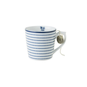 Laura Ashley-Blueprint Κούπα μικρή candy stripe 22cl