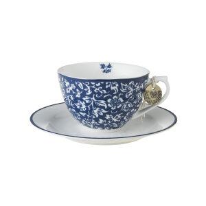 Laura Ashley-Blueprint Φλυτζάνι cappuccino με πιατάκι sweet allysum