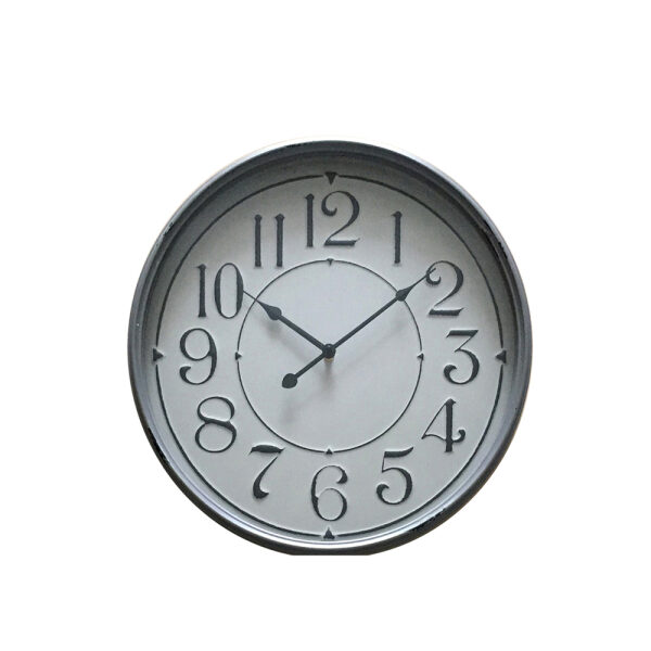 MERE ΡΟΛΟΙ ΤΟΙΧΟΥ ΜΕΤΑΛΛΙΚΟ ΑΣΗΜΙ/ΛΕΥΚΟ Δ48xΥ6,5cm
