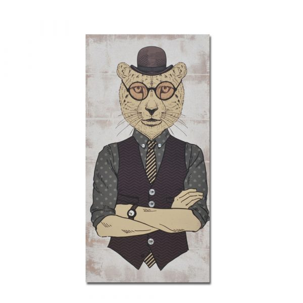 MR.CAT ΔΙΑΚΟΣΜΗΤΙΚΟΣ ΠΙΝΑΚΑΣ ΜΑΥΡΟΣ 30x60x1,8cm