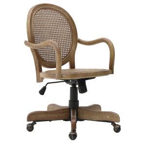 Ξύλινη Καρέκλα Τροχήλατη