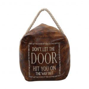 """DOOR STOP """"DON'T LET THE DOOR HIT YOU"""" ΚΑΦΕ"""