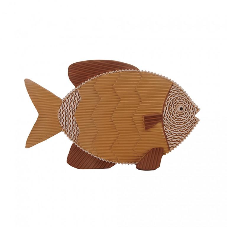 STICKY FISH ΔΙΑΚΟΣΜΗΤΙΚΟ ΨΑΡΙ ΚΑΦΕ 21,3x4,9xΥ13,3cm