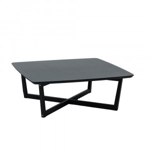 MAJESTY COFFEE TABLE ΜΑΥΡΟ OAK 100x100xH37cm