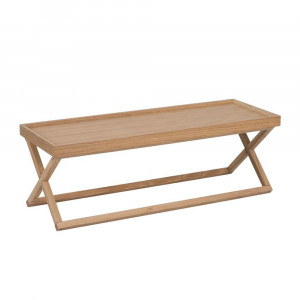 END COFFEE TABLE ΦΥΣΙΚΟ 116x40,5xH39cm