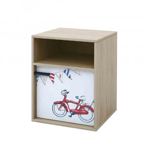 BICYCLE ΚΟΜΟΔΙΝΟ SONOMA ΜΕ PATTERN 44,5x36xH55cm