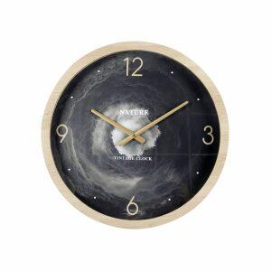 GALAXY ΡΟΛΟΪ ΤΟΙΧΟΥ MDF/ΓΥΑΛΙ ΜΑΥΡΟ/ΦΥΣΙΚΟ/ΓΚΡΙ Δ50xΥ6cm