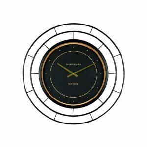 ROYAL BLACK ΡΟΛΟΪ ΤΟΙΧΟΥ ΜΕΤΑΛΛΟ ΜΑΥΡΟ/ΧΡΥΣΟ Δ70xΥ5,7cm