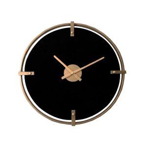 VETRO BLACK ΡΟΛΟΙ ΤΟΙΧΟΥ ΓΥΑΛΙ ΧΡΥΣΟ/ΜΑΥΡΟ Δ59,5xΥ4,5cm