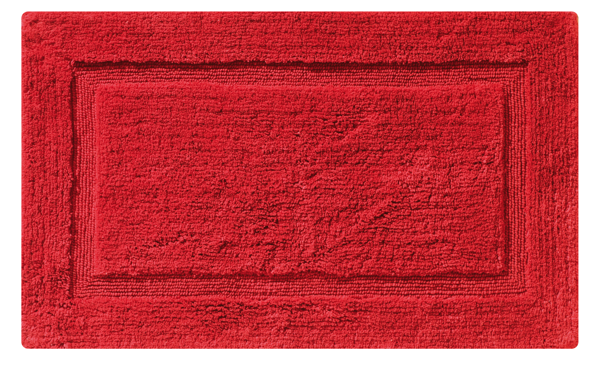 ΤΑΠΕΤΟ ΜΠΑΝΙΟΥ ΒΑΜΒ.50Χ80 BORDER ΚΟΚΚΙΝΟ