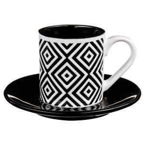 ΦΛΥΤΖΑΝΙ GEOMETRIC  BLACK & WHITE 90ml
