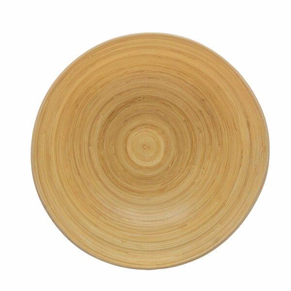 Grey | Bamboo, ΣΑΛΑΤΙΕΡΑ 25CM ΜΠΑΜΠΟΥ ΓΚΡΙ 25x8.5cm