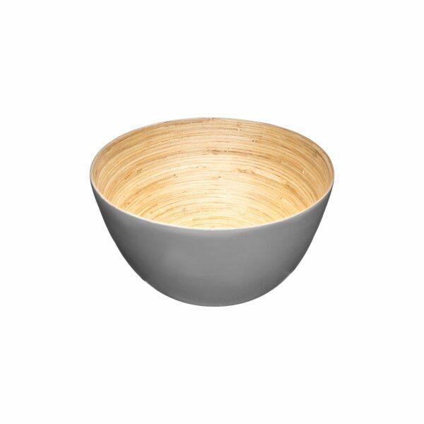 Grey   Bamboo, ΣΑΛΑΤΙΕΡΑ 17CM ΜΠΑΜΠΟΥ ΓΚΡΙ 17x7.5cm