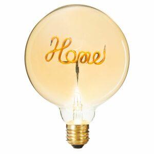 HOME, ΛΑΜΠΤΗΡΑΣ ΒΙΔΩΤΟΣ LED BULB G125, 12.5x17cm