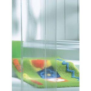 Κουρτίνα Μπάνιου Clear Transparent 180x200