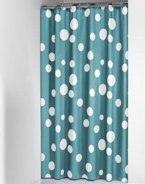 Κουρτίνα Μπάνιου Bubbles Aqua 180x200