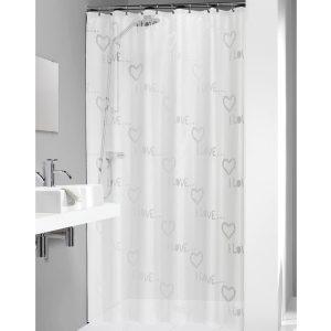 Κουρτίνα Μπάνιου Condens Transparent 180x200