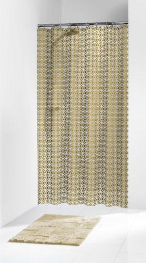 Κουρτίνα Μπάνιου Hammam Gold 180x200