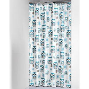Κουρτίνα Μπάνιου Owl 180x200