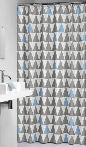 Κουρτίνα Μπάνιου Nordic Light Blue 180x200