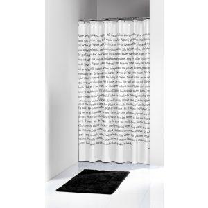 Κουρτίνα Μπάνιου Sayings 180x200