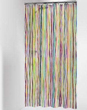 Κουρτίνα Μπάνιου Rigato Multi 180x200
