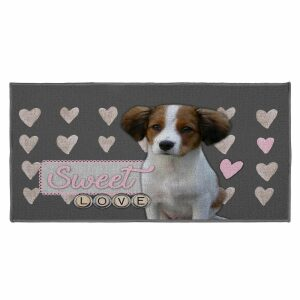 ΧΑΛΙ 57 x 115 CM PRINTED LOVE DOGGY