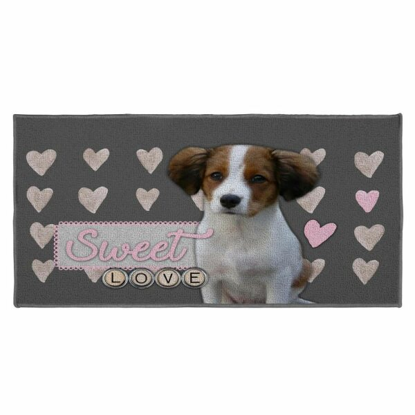 ΧΑΛΙ 57 x 115 CM PRINTED LOVE DOGGY